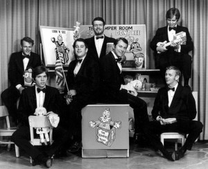 "Romper room with ""Rod Henley and the In Crowd"" circa 1966"